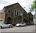 SO1308 : Derelict Grade II listed former chapel, Harcourt Terrace, Tredegar by Jaggery