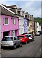 SO1408 : Pink house, Market Street, Tredegar by Jaggery