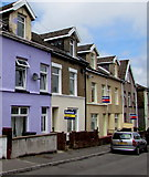 SO1408 : Colourful house, Market Street, Tredegar by Jaggery