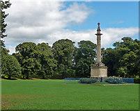 SO5139 : Nelson Column, Castle Green, Hereford by Stephen Richards