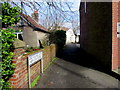 SS8178 : Old Village Lane, Nottage, Porthcawl by Jaggery