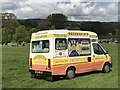 SK2670 : Ice-cream van at Chatsworth Horse Trials by Jonathan Hutchins