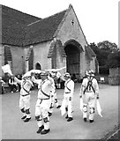 ST8260 : Morris Dancers at the Tithe Barn by Des Blenkinsopp