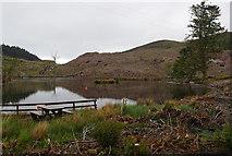 NG5536 : Loch a' Mhuilinn by Ian Taylor