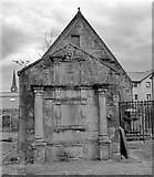 NS2059 : The Old Kirk of Largs by Raibeart MacAoidh