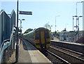 NT1188 : Platform 1, Dunfermline Queen Margaret Railway Station by JThomas