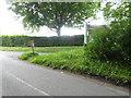 TQ4029 : Post box at junction at Birchgrove Lane and Road by Shazz