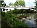 SO5468 : Little Hereford Bridge by Philip Halling