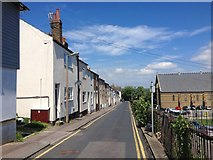 TQ7567 : Rochester Street, Chatham by Chris Whippet