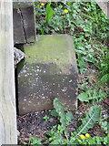 SJ4065 : Chester Castle perimeter War Department Boundary Stone #20 by John S Turner