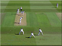 SK5838 : Trent Bridge: a hundred on his home debut by John Sutton