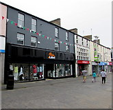SS9079 : Miss Label in Bridgend town centre by Jaggery