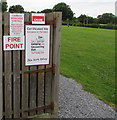 SS0698 : The Camping and Caravanning Club Fire Point, Manorbier by Jaggery