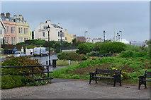 ST3049 : Promenade gardens, Burnham-on-Sea by David Martin