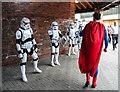 SJ6088 : Stormtroopers and Superman, Warrington Market by Matt Harrop