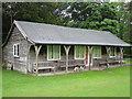 NY3916 : The Patterdale cricket pavilion by Des Colhoun