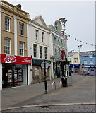 SS9079 : Peter Morgan office in Bridgend town centre by Jaggery