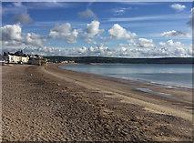 SY6879 : Weymouth Beach by John Allan