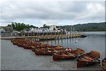 SD4096 : Rowing boats for hire by DS Pugh