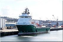 NJ9505 : Havila Aurora at Torry Quay, Aberdeen by Mike Pennington