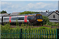 ST4286 : Monmouthshire : Railway Line by Lewis Clarke