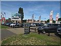 TL4661 : Car sales, Milton Road by Hugh Venables