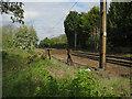 TL3441 : Buffers near Royston Station by Hugh Venables