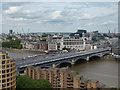 TQ3180 : View from Tate Modern, London by Christine Matthews