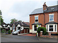 SK5837 : West Bridgford: bungalow and bays in Victoria Road by John Sutton
