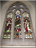 TQ2075 : St Mary Magdalen R.C. Church, Mortlake: stained glass window (b) by Basher Eyre