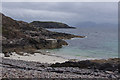 NM5699 : Beach near Point of Sleat by Ian Taylor