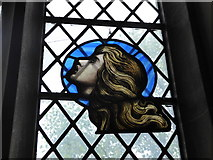TQ2075 : St Mary Magdalen R.C. Church, Mortlake: stained glass window (e) by Basher Eyre