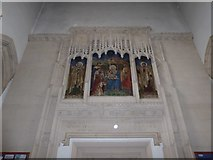 TQ2075 : Inside St Mary the Virgin, Mortlake (3) by Basher Eyre