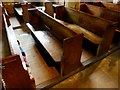 SD9278 : Pews in the Church of St Michael and All Angels by Oliver Dixon