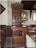 TQ2075 : Inside St Mary the Virgin, Mortlake (8) by Basher Eyre