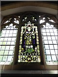 TQ2075 : St Mary the Virgin, Mortlake: stained glass window (c) by Basher Eyre