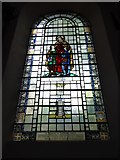 TQ2075 : St Mary the Virgin, Mortlake: stained glass window (g) by Basher Eyre
