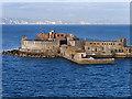 SY7076 : Portland Breakwater Fort by David Dixon
