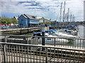 SY6779 : Weymouth Marina from Westham Bridge by David Dixon