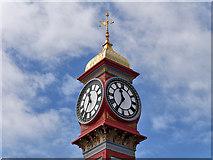 SY6879 : Queen Victoria Memorial Clocktower by David Dixon