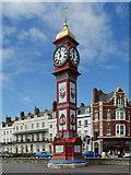 SY6879 : Queen Victoria Memorial Clocktower, Weymouth by David Dixon