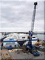 SY6974 : Portland Harbour Coaling Pier by David Dixon