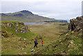 NG5149 : Escarpment north of Fiurnean by Ian Taylor