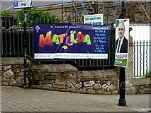 """H4472 : """"Matilda"""" banner, Omagh by Kenneth  Allen"""