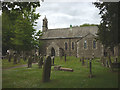 NY9913 : St Giles's Church, Bowes by Karl and Ali