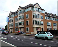 ST1876 : Four-storey office building in Cardiff city centre by Jaggery