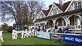 SP5107 : Cricket pavilion, Oxford University Parks by Mark Percy