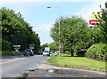 TF8409 : A47 near the McDonald's roundabout at Swaffham by Mat Fascione