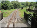 SN6180 : Glanyrafon railway station, Ceredigion by Nigel Thompson