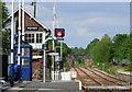 NZ2722 : Heighington railway station by Thomas Nugent